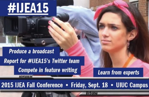 "Get in ""journalism mode"" with IJEA's 2015 Fall Conference"