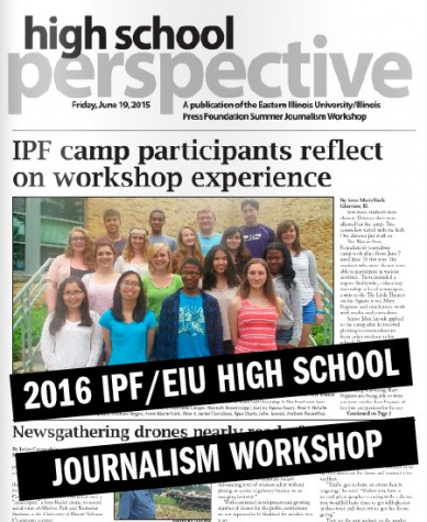Make your summer plans now: Apply to the IPF/EIU High School Journalism Workshop