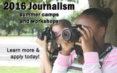 Apply NOW: 2016 Summer Journalism Workshops