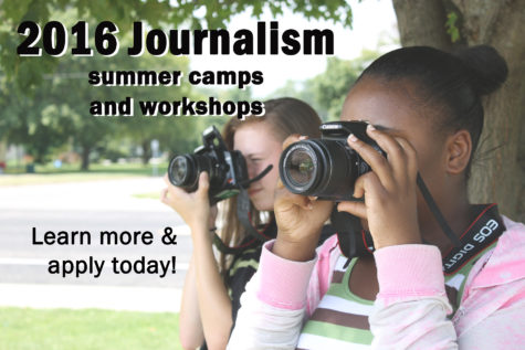 Apply NOW: 2016 Summer Journalism Workshops
