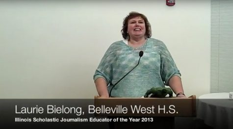 In memoriam: Laurie Bielong, 2013 IJEA Educator of the Year, longtime adviser and advocate of scholastic journalism