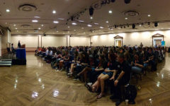 Hundreds of student journalists and their advisers gathered at the IJEA Fall Conference at the University of Illinois Urbana-Champaign on Sept. 15, 2017.