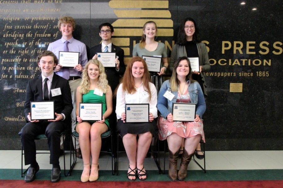 The IJEA and Illinois Press Foundation recognized the achievements of some of the state's top high school journalists with an awards luncheon June 2 in Springfield.