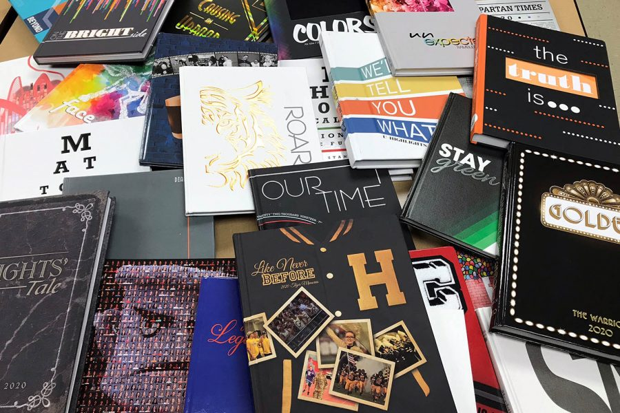 2020 Yearbook Contest winners