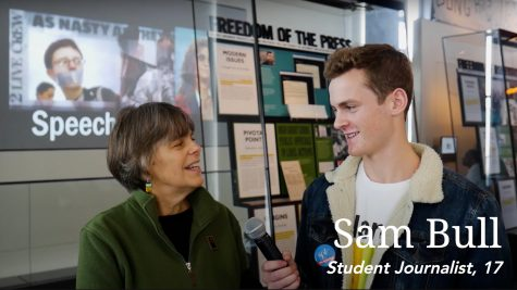 Sam Bull interviews Mary Beth Tinker